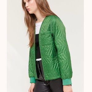 STUSSY Women's Stall Quilted Convertible Jacket